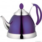 1.5L S/S Teapot in Purple Colour