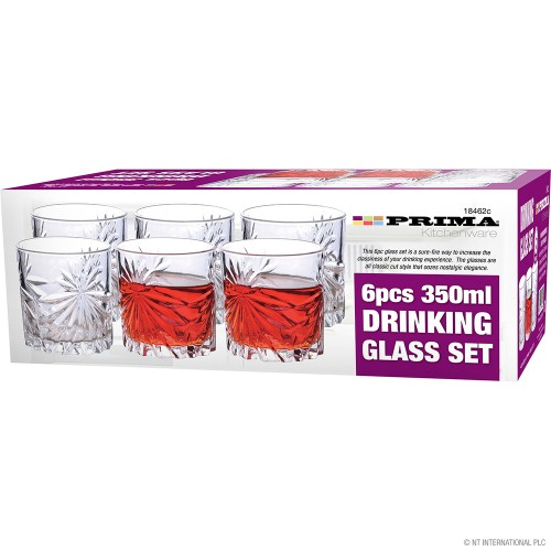 6pcs 350Ml Glass Set