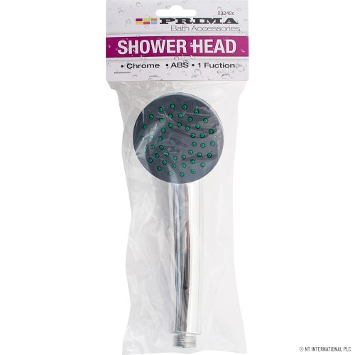 1 Function Chrome Shower Head