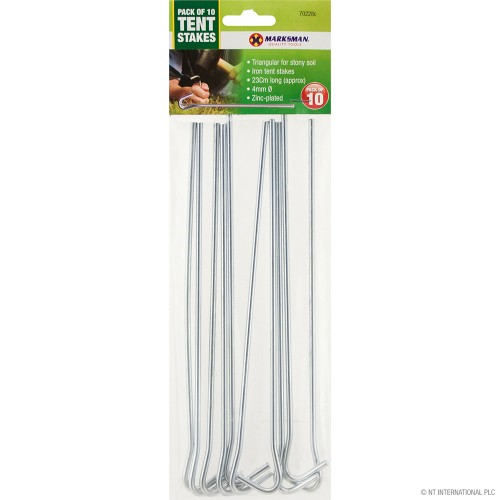 10pc Tent Pegs