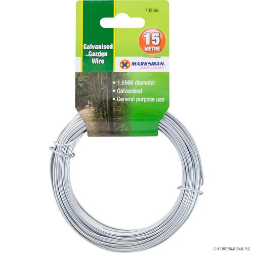 1.6mm 20m Galvanised Garden Wire