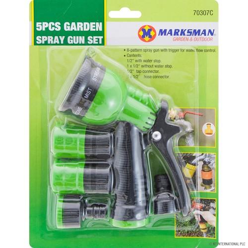 4pc 6 Function Spray Gun Set