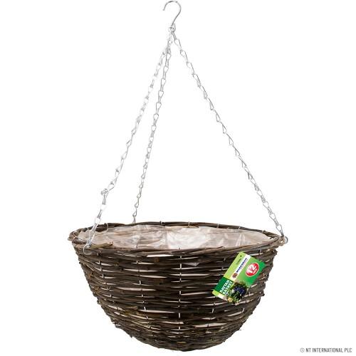 12 inch Rattan Basket