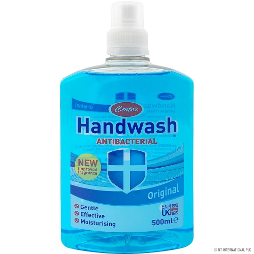500ML ANTIBACTERIAL HANDWASH