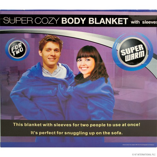 The Double Blanket (Coffee Pink  Blue Colours)